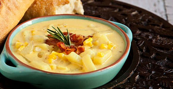 Cheddar Corn Chowder | Recipe