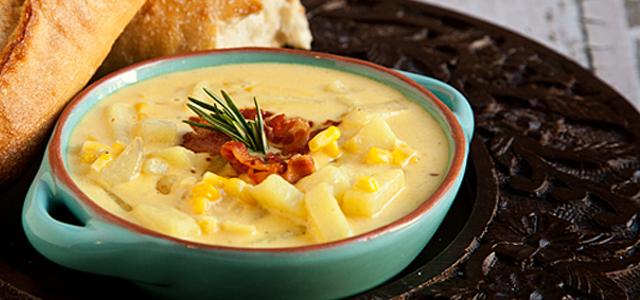 Cheddar Corn Chowder | Recipe