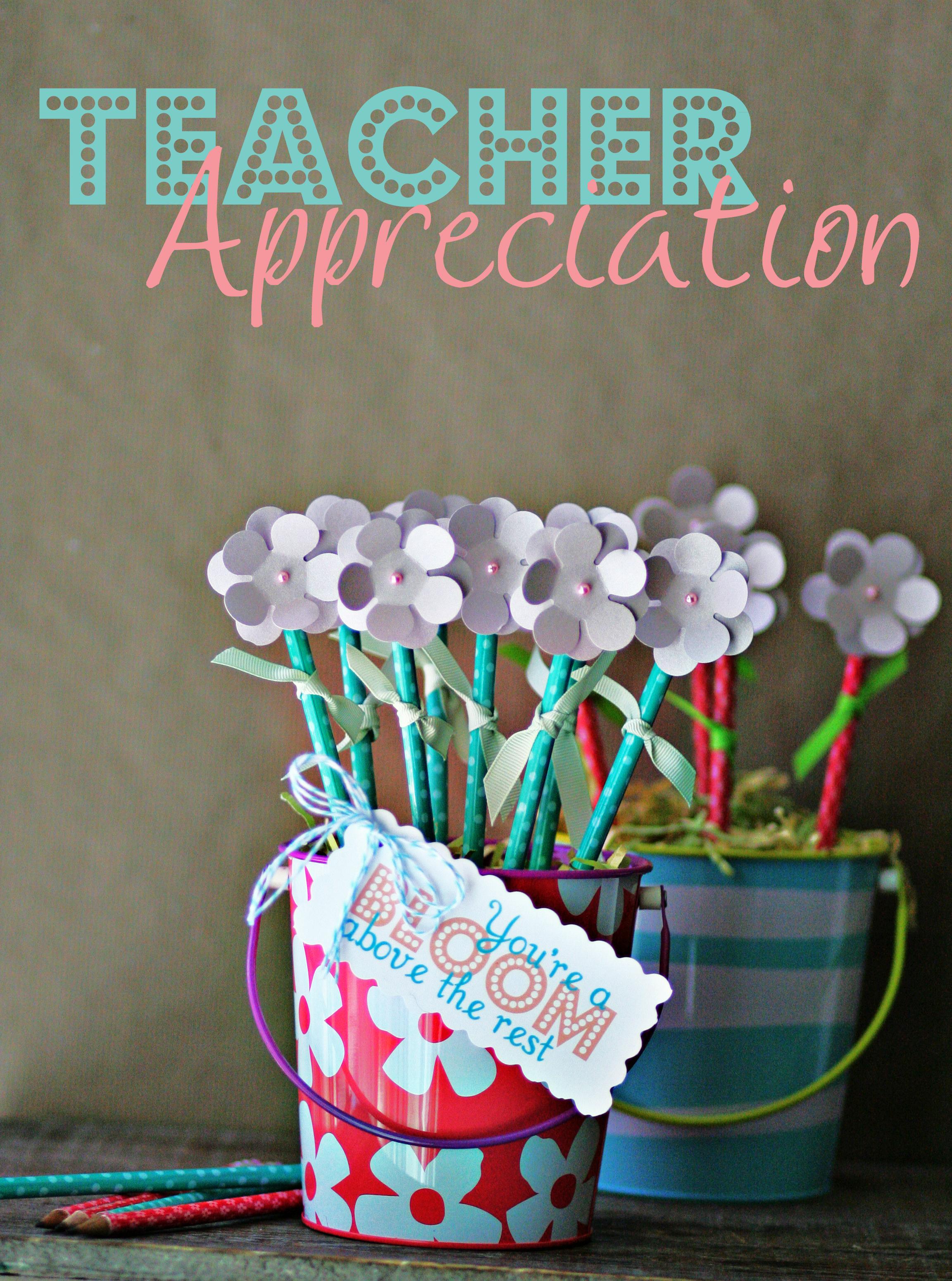 Teacher Appreciation ~ DIY Pencil Flower Bouquet ...