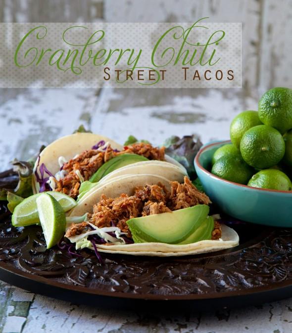 Recipe ~ Cranberry Chili Street Taco
