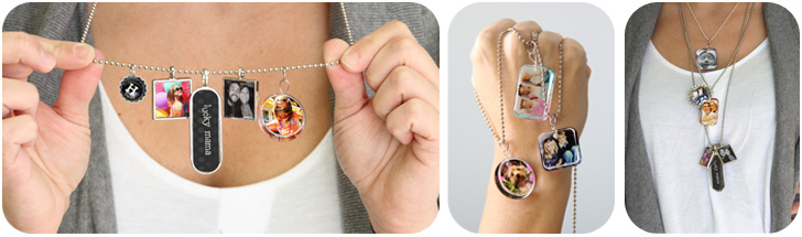 {Giveaway} Mix~n~Match Personalized Jewelry from Harold's Photo Centers