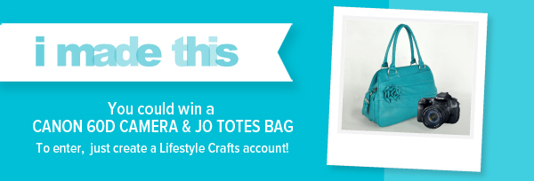 Lifestyle Crafts Giveaway