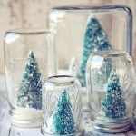 Anthropologie Inspired Snow Globes