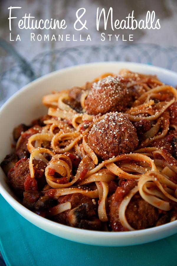 Fettuccine & Meatballs