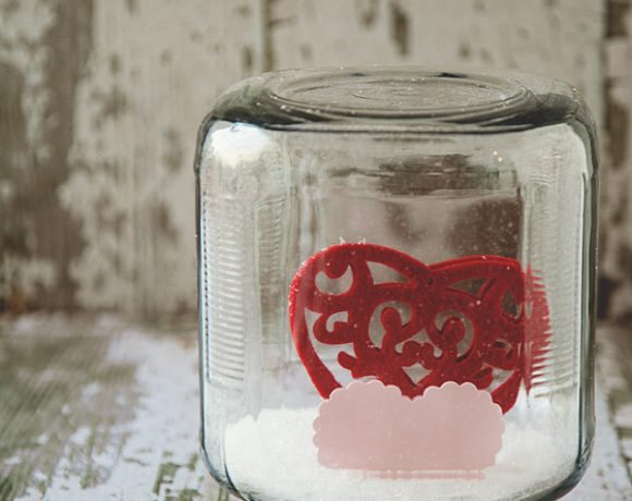 Valentine Snow Globe | Anthro Inspired