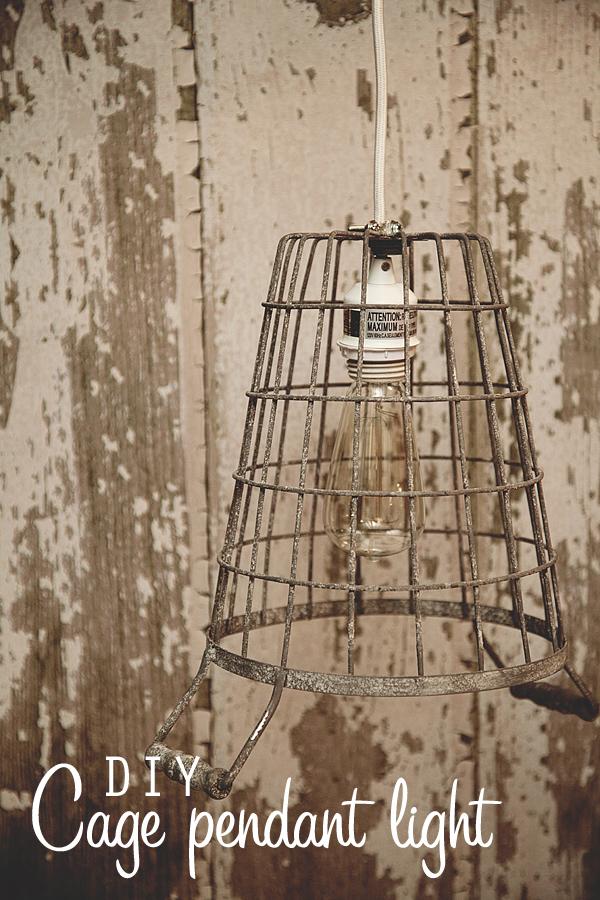 Diy cage pendant light whipperberry diy cage pendant light now aloadofball Images