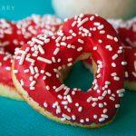 Vanilla Bean Heart Doughnuts