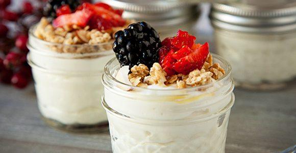 Extra Creamy Yogurt Cups | Recipe