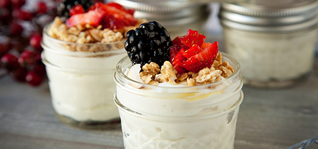 Extra Creamy Yogurt Cups | Recipe
