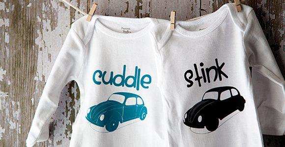 DIY Baby Onesies with Silhouette Studio® Designer Edition & CAMEO | Bonus Discount Code