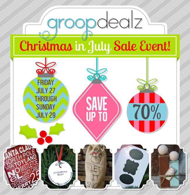 Christmas in July - GroopDealz