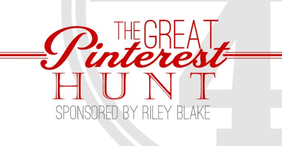 The Great Pinterest Hunt /// Day FOUR