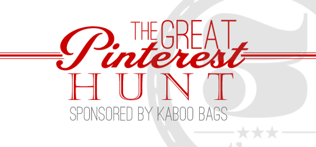 The Great Pinterest Hunt /// Day THREE