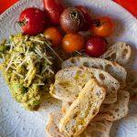 Guacamole Italiano Crostini