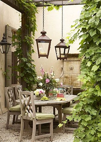 French Backyard Garden