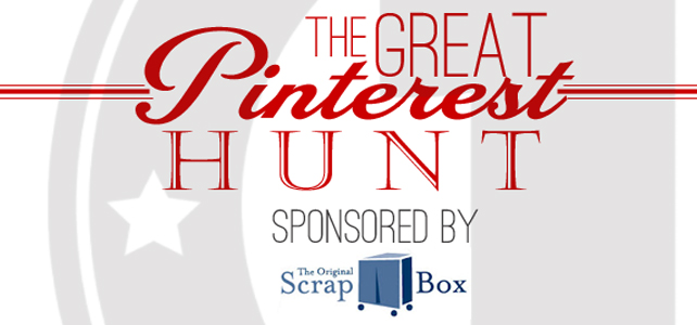 The Great Pinterest Hunt /// Day ONE