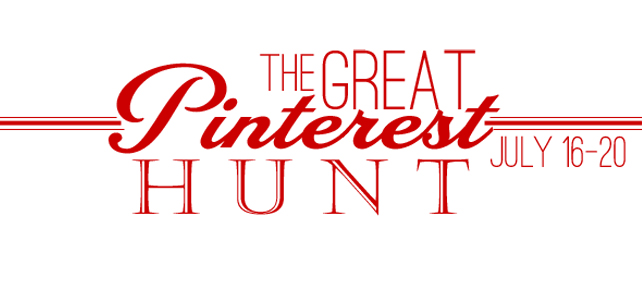 The Great Pinterest Hunt | July Event