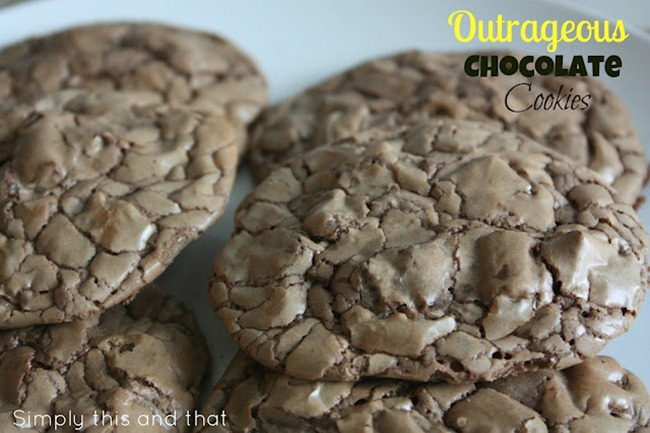 Outrageous Chocolate Cookies 2