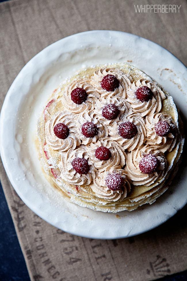 Raspberry and Biscoff Cake