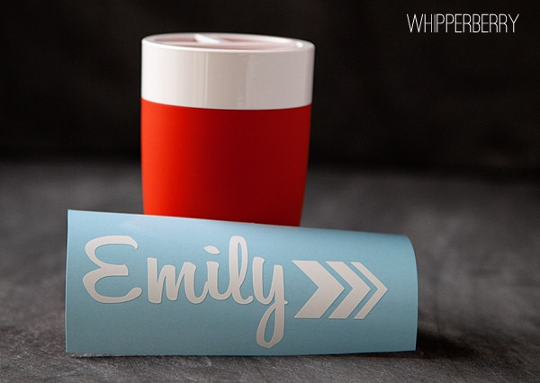Silhouette Premium Vinyl Project from WhipperBerry