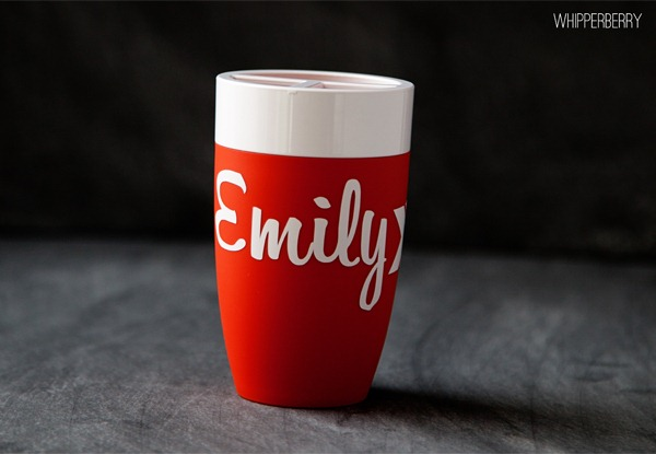 Silhouette Vinyl Toothbrush Holder from WhipperBerry