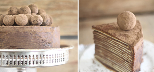 Friday Flair Link Party /// Crepe Cake Edition