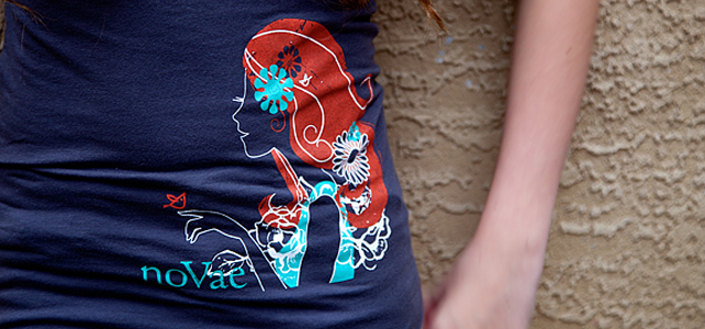 New Love /// Novae Clothing's Graphic Tee
