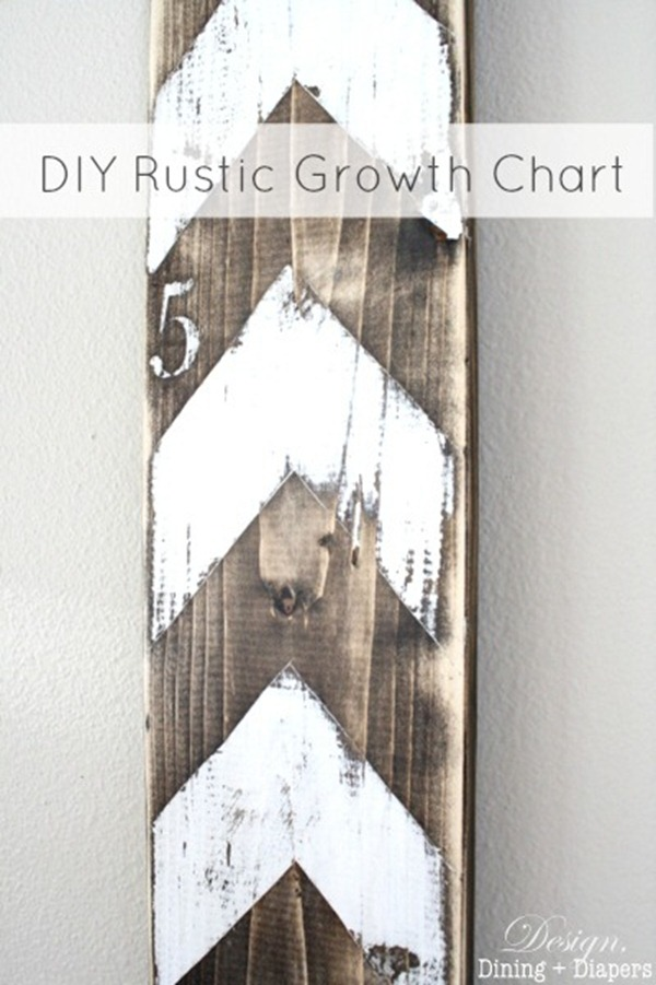 DIY-Rustic-Growth-Chart