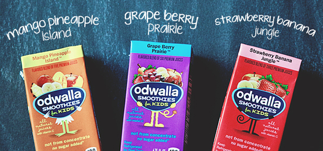 Moving Day Fun with Odwalla Smoothies for Kids