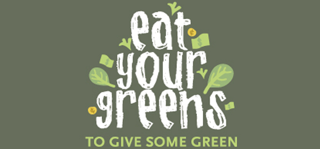 Eat Your Greens to Give Some Green