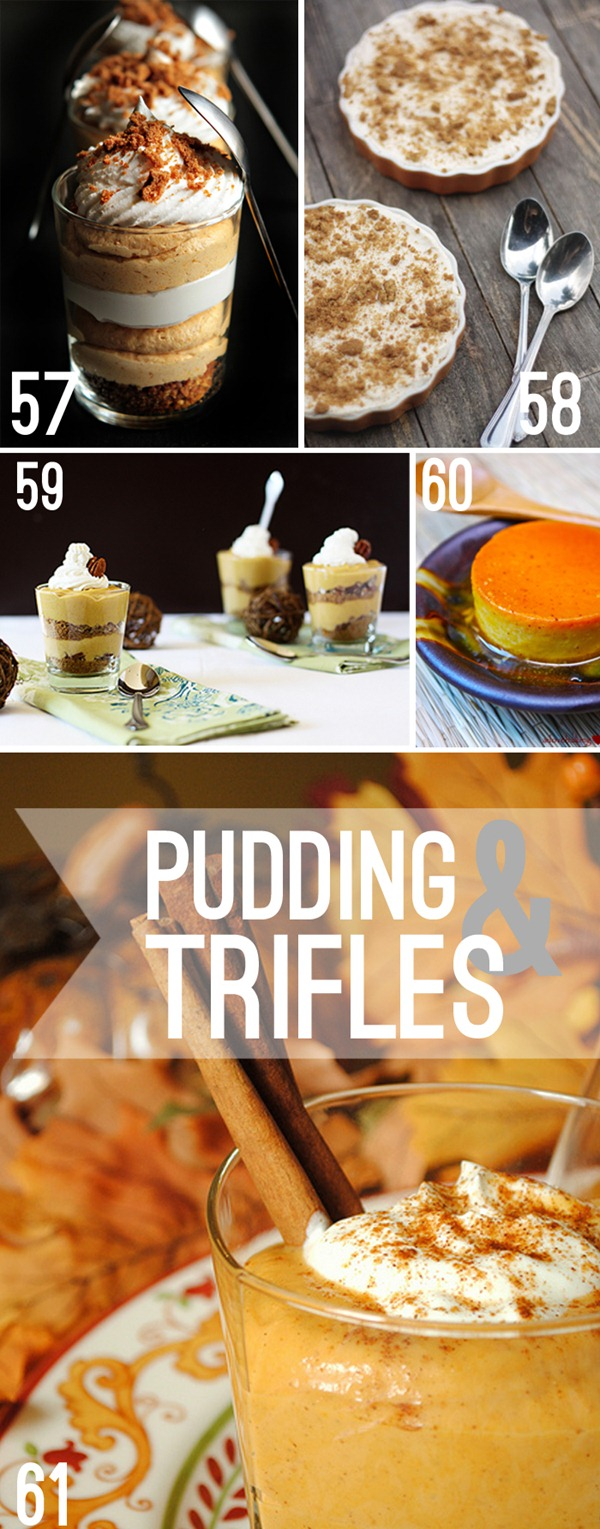 Pumpkin Pecan Cheesecake Pots Recipes — Dishmaps