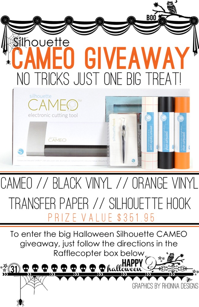 CAMEO Giveaway at WhipperBerry