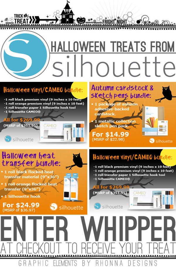 Halloween Treats from Silhouette
