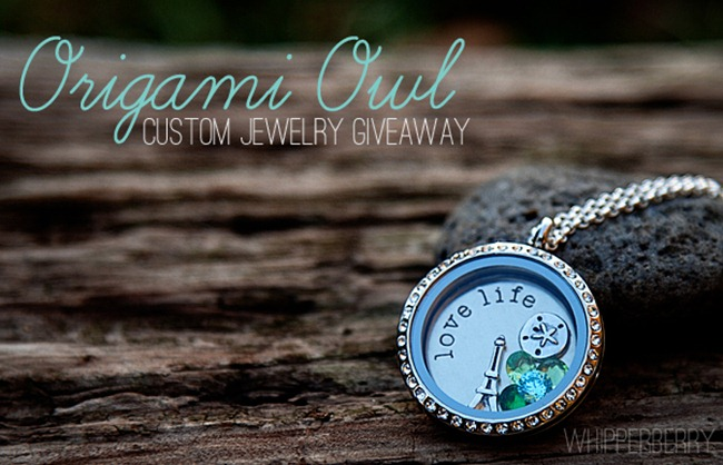 Origami Owl Giveaway on WhipperBerry copy