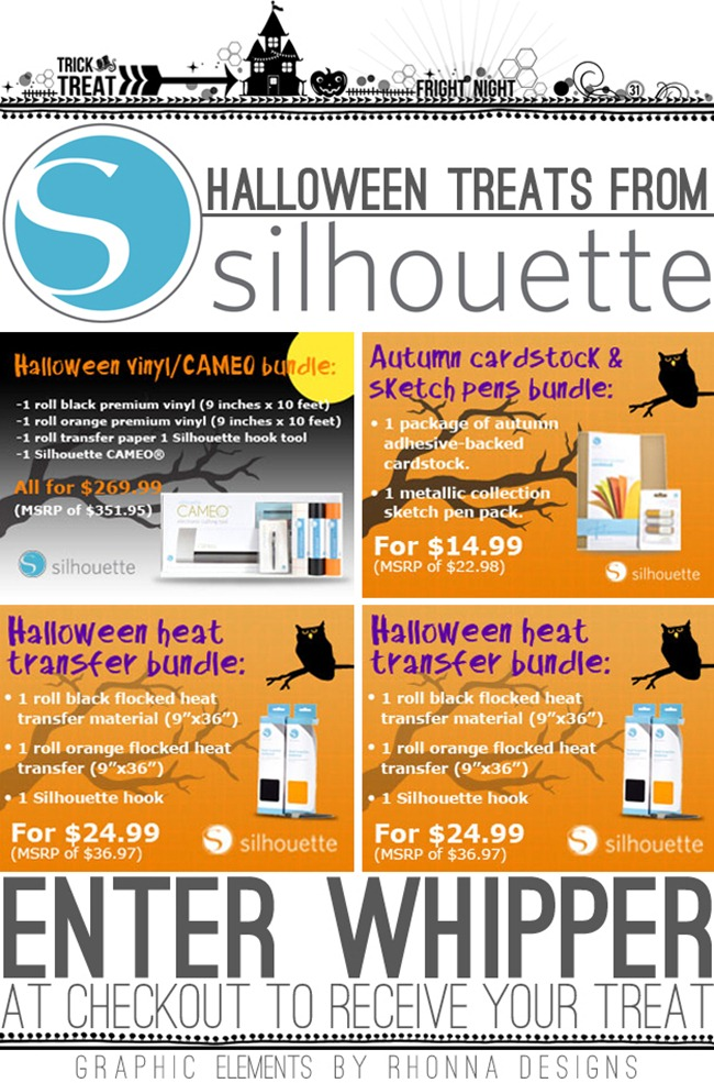Silhouette October Promotions