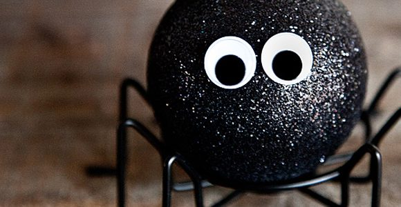 Cute Little Spooky Spiders for Halloween Decor