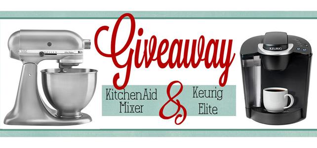 Holiday KitchenAid & Keurig GIVEAWAY