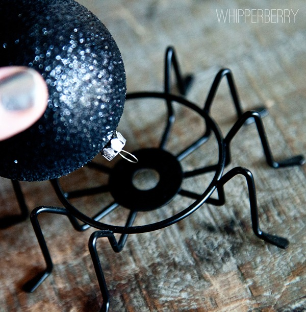 how to make a cute spider