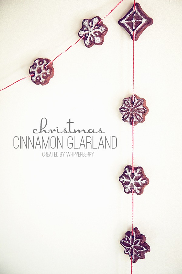 Christmas Cinnamon Garland by Whipperberry