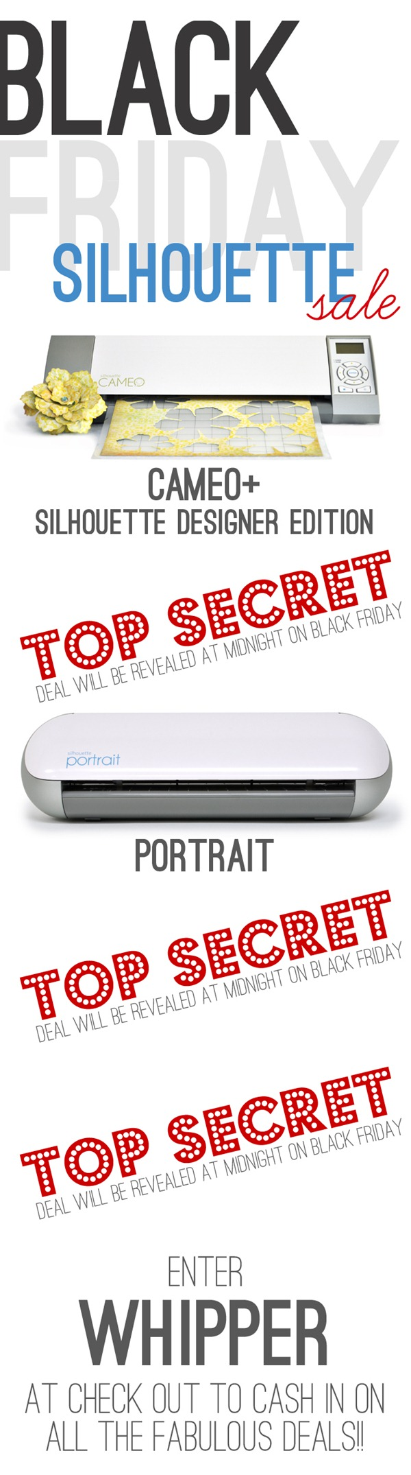 Silhouette Black Friday Specials TOP SECRET copy