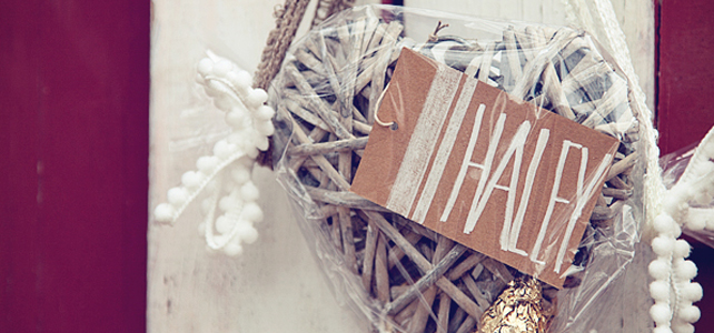 Thanksgiving Place Cards with GiftGloss