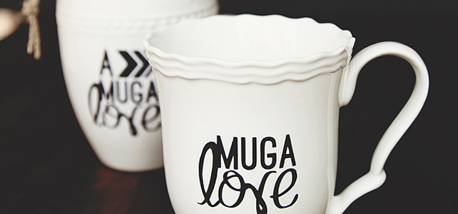 Sharpie Art Gift Set //  Mug A Love Hot Chocolate