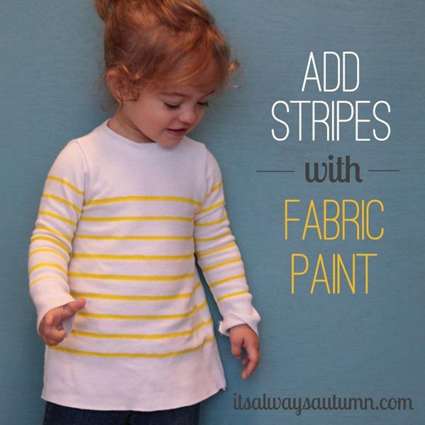 stripeswithfabricpaint