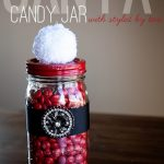 Santa Candy Jar with Styled by Tori Spelling