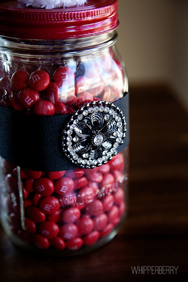 Styled by Tori Santa Candy Jar by Whipperberry