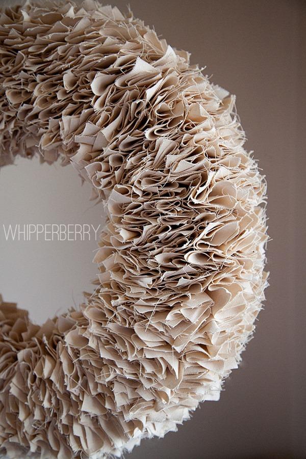 Whipperberry Winter White Wreath