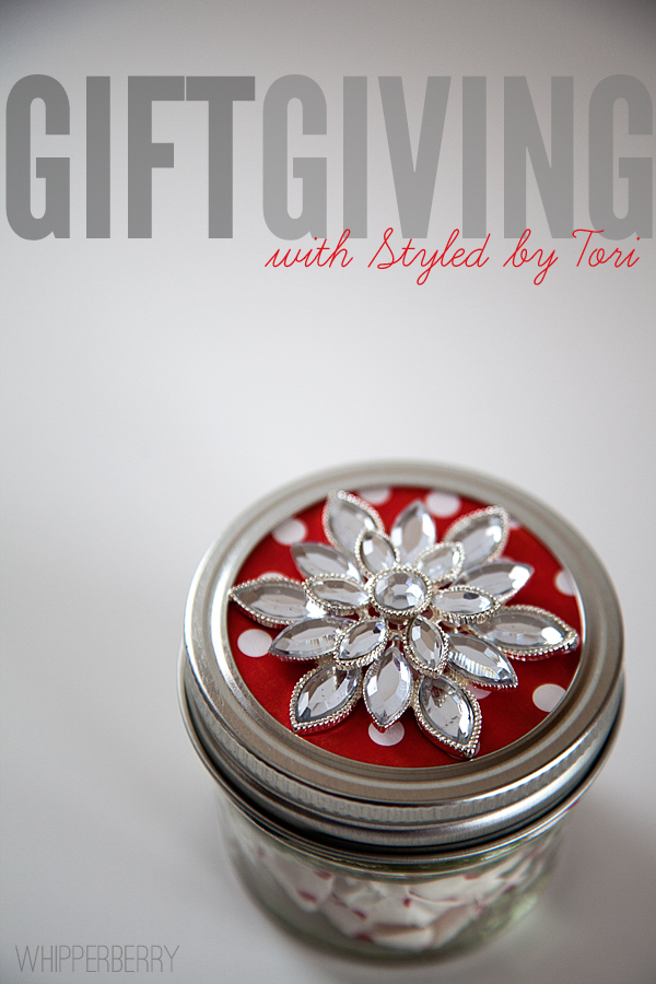 Gift Giving with Styled by Tori and WhipperBerry