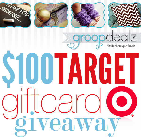 Groopdealz $100 Target Giveaway on WhipperBerry
