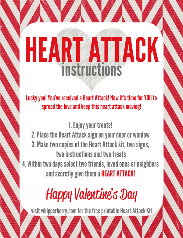 Heart Attack Instructions