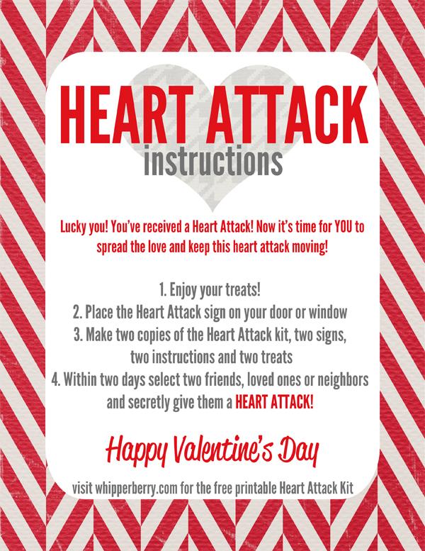 Heart Attack Instructions